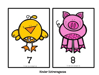 Barnyard Activities Math Bundle