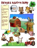 Barnyard Addition and Subtraction Bump Math Station Games (1.OA.6, 2.OA.2)