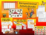 Barnyard Animal Activities BUNDLE   * Farm Animal Activities, Centers, and Games