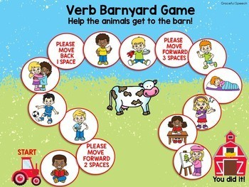 Barnyard Animals - Speech and Language Activities, Farm Fun