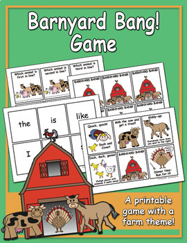 Barnyard Bang! Game