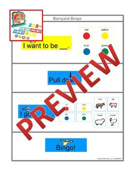 Barnyard Bingo [speech therapy and autism]