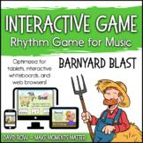 Interactive Rhythm Game - Barnyard Blast Farm-themed Rhythm Game