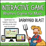 Interactive Rhythm Game - Barnyard Blast Farm-themed Rhythm Game