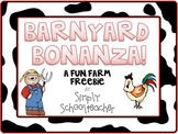 Barnyard Bonanza! A Fun Farm FREEBIE