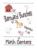 Barnyard Bunches of Math Centers - Farm Unit