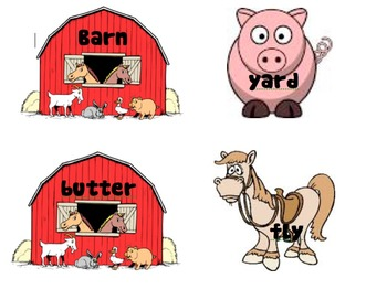Barnyard Compound words