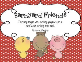 Barnyard Friends- Research Writing Mini Unit for Primary Grades
