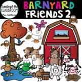 Barnyard Friends 2 Clip Art {Farm Animals Clip Art}