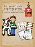 Barnyard Friends Beginning Sounds -- Activities from the Farm