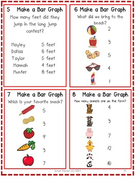 Barnyard Friends Graphing Lessons, Activities and Game