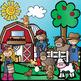 Barnyard Friends Growing Bundle {Farm Clip art}