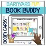 Barnyard Fun Book Companion | Boom Cards™️ Deck | Teletherapy