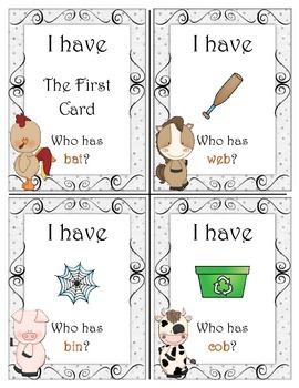 Barnyard Fun With CVC Words
