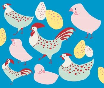 Barnyard Hens, Chicken Clipart, Hen Clipart, Rooster Clip Art