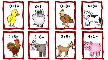 Barnyard Math - Math Centers for K-2