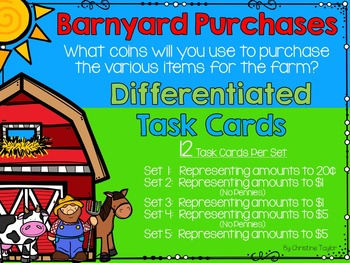 Barnyard Purchases - How Would You Pay for Your Purchase?