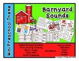 Barnyard Sounds Mini Preschool Theme (onomatopoeia)