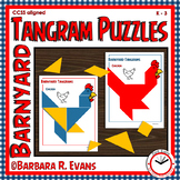 TANGRAMS Farm Tangram Puzzles Math Center Problem Solving Critical Thinking