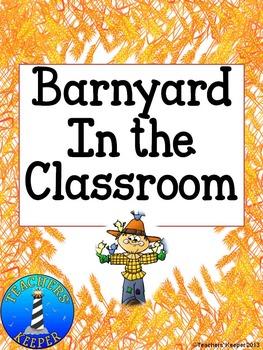 Barnyard and Farm Animals Unit Activities for Preschool and Kindergarten