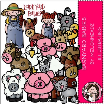 Barnyard babies clip art- by Melonheadz