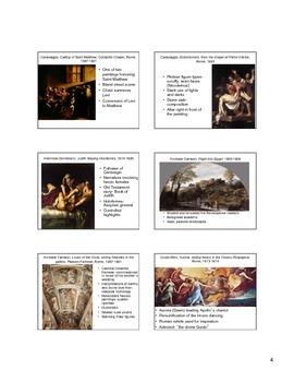 Baroque Art Notes