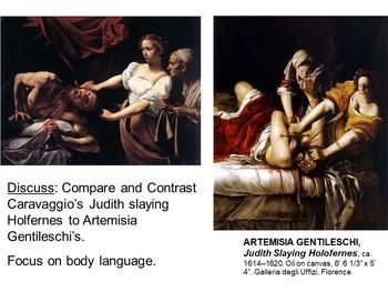 Baroque Art Bundle (Italian, Spanish, and Northern European, with bonus ppt)