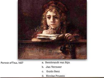 Baroque ~ Art ~ Exam ~ Art History ~ 100 M/C Visual Qs ~ Test