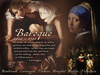 Baroque Art History Poster