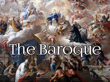 baroque art and architecture powerpoint by history powerpoints by