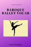 Baroque Ballet Vocab