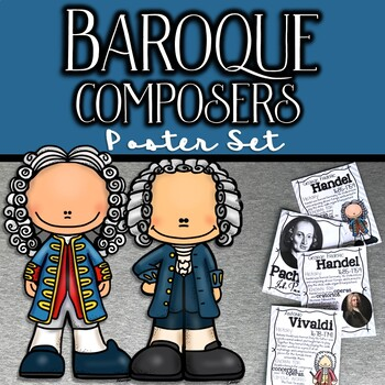 Baroque Composers Poster Set