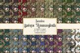 Baroque Hummingbird Digital Paper