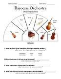 Baroque Orchestra ELL Worksheet