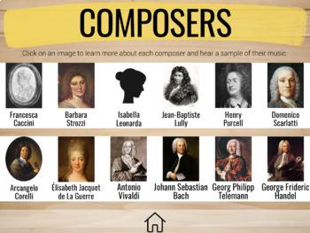 Baroque Period in Music Quick Guide