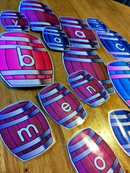 Barrel Letters Classroom Decoration Set