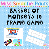 Barrel of Monkeys 10 Frame Activity