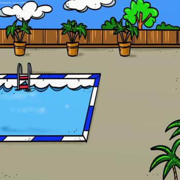 Barrier Game - Build a Summer Scene