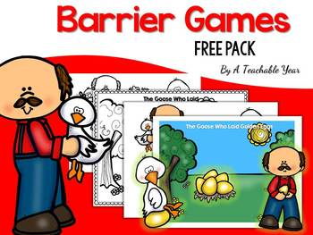 Barrier Game- Stories Edition- FREE