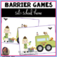 Barrier Games Bundle 1-5 for Speech Therapy, Language Development