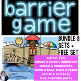 Barrier Games for Describing and Directing Bundle for Spee