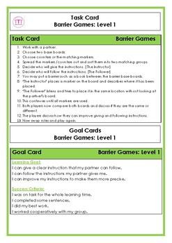 Barrier Games: Level 1