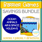 Barrier Games Bundle Speech Therapy