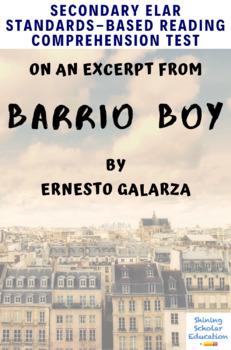 Barrio Boy Excerpt Multiple-Choice Reading Analysis Test