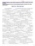 Preterite vs Imperfect Story Quiz - Barrio Peligroso