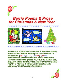 Barrio Poems & Prose for Christmas & New Year
