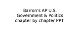 Barron's AP US Government and Politics review book PPT (Chp. 1)