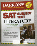 Barron's SAT Literature Subject Test Prep Workbooks, Gently Used