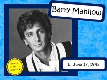 Barry Manilow: Musician in the Spotlight
