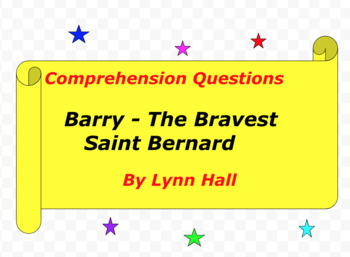Barry - The Bravest Saint Bernard